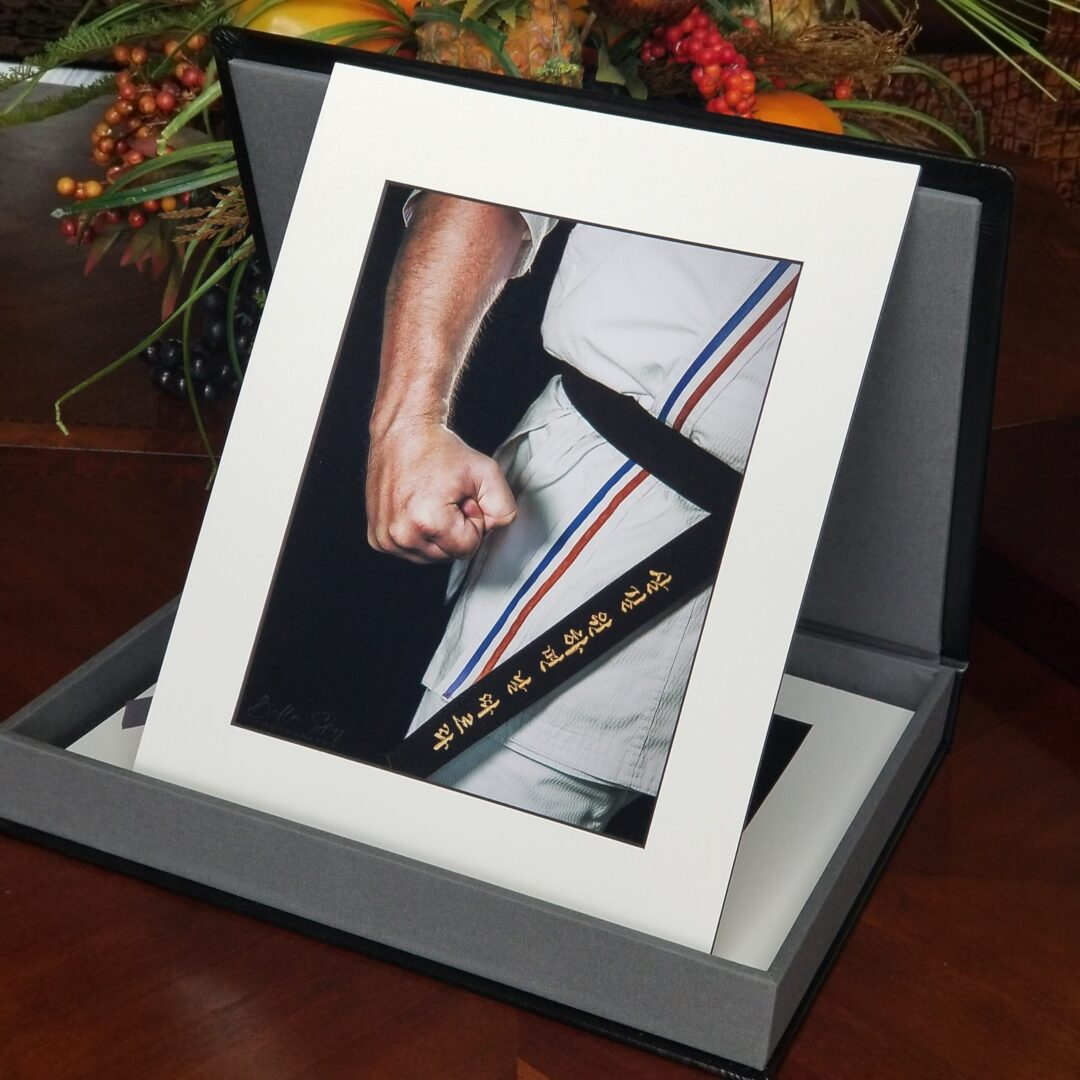 Matted Portrait photo display by Bella Sky Photography
